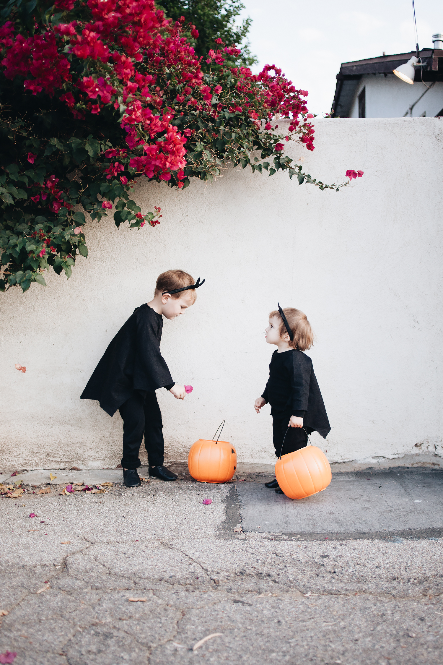 calivintage - diy kids bat costumes